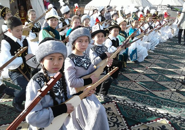 Праздничные мероприятия в честь Нооруза в Караколе
