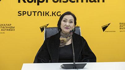 Кыргызстандын эмгек сиңирген артисти Шайгүл Алсеитова