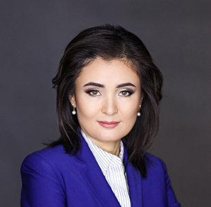Доцент кафедры журналистики Бишкекского гуманитарного университета Назира Ахмедова