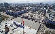 Празднование Нооруза в Бишкеке. Архивное фото