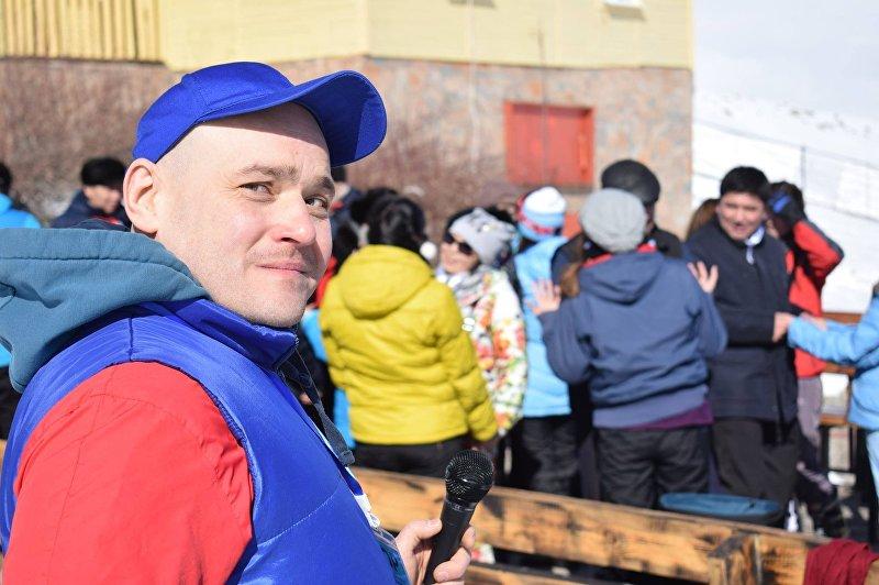 Организатор праздничных мероприятий Егор Паньшин