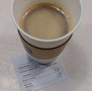 Стакан кофе. Архивное фото