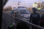 Перепалка женщин в маршрутном такси в Бишкеке