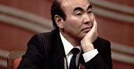 Архивное фото бывшего президента Аскара Акаева