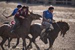 Национальная конно-спортивная игра Кок бору. Архивное фото