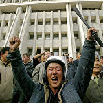 Митингующие после захвата Белого дома