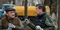 Президент Сооронбай Жээнбеков жана Бишкектин мэри Албек Ибраимов