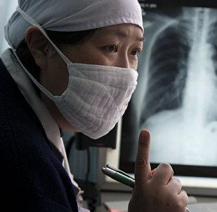 Туберкулездон дарылануу. Архивдик сүрөт