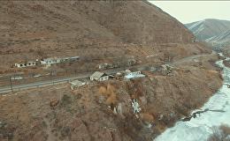 Как выглядит самое маленькое село в Кыргызстане — видео