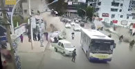 Мощный взрыв газопровода в Китае попал на видео