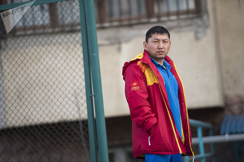 Многократный чемпион Кыргызстана по пауэрлифтингу, участник паралимпийских игр в Рио-Де-Жанейро Эсен Калиев