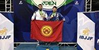 Кыргызстандык спортчу Абдурахманажы Муртазалиев жиу-житсу боюнча эл аралык Chicago spring Open мелдешинде алтын байгеге ээ болду