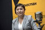 Орус-кыргыз өнүктүрүү фондусунун долбоордук каржылоо кызматынын адиси Нурзада Осмонова
