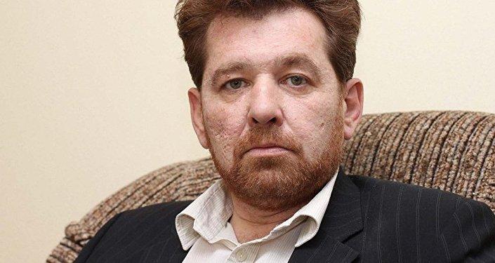 Руководитель отдела изучения Центральной Азии Института стран СНГ Андрей Грозин. Архивное фото