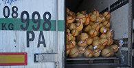 Кыргызстандан көчөт жана капуста жүктөлгөн жүк ташуучу автоунаа Россияга кирүүгө аракет кылган учурда кармалган