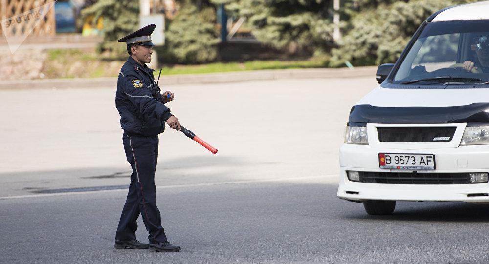 Работа ГУОБДД в Бишкеке