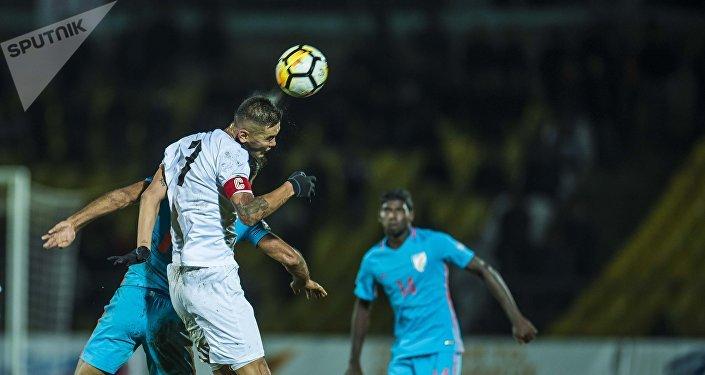 Матч Кыргызстан — Индия в рамках отбора на Чемпионат Азии — 2019