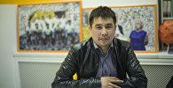 Экономика министринин көзөмөлдөө жана жөнгө салуу башкармалыгынын көзөмөлдөө бөлүмүнүн башкы адиси Бакыт Давлеталиев