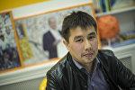 Экономика министринин көзөмөлдөө жана жөнгө салуу башкармалыгынын текшерүү бөлүмүнүн башкы адиси Бакыт Давлеталиев