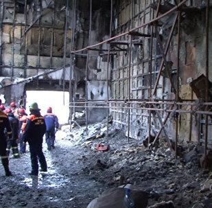 Кемерово шаарындагы соода-комплексиндеги өрттүн кесепети
