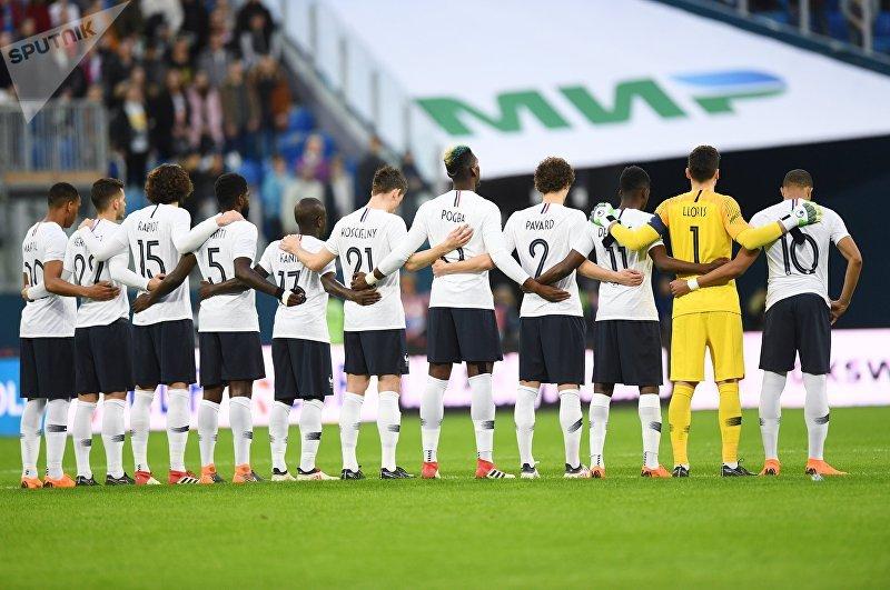 Футбол. Товарищеский матч. Россия - Франция