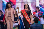 Студентка 3-курса КГНУ Сезим Асранкул кызы стала победительницей конкурса красоты Мисс Бишкек — 2018