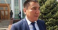 Ош облусундагы өкүлү Таалайбек Сарыбашов. Архивное фото