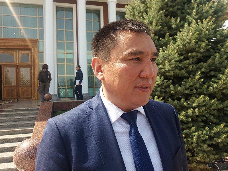 Полномочный представитель правительства в Ошской области Таалайбек Сарыбашов