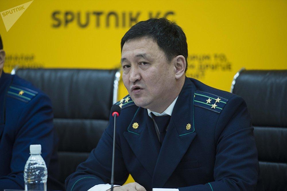 Заместитель генерального прокурора КР Нурлан Дюшембиев