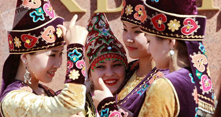 Празднования Дня независимости Киргизии