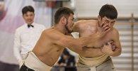 Чемпионат по сумо в Бишкеке