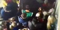 Вырезанный фрагмент видеозаписи пожара в Кемерово появился в Сети