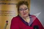 Архивное фото российского экономиста Елены Кузьминой