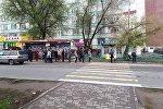 Забастовка водителей маршруток в Бишкеке