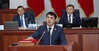Депутат Марлен Маматалиев. Архивдик сүрөт