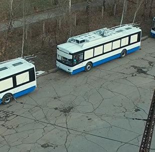 Закуп новых троллейбусов в Бишкеке