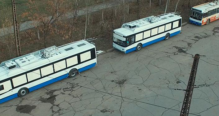 Закуп новых троллейбусов в Бишкеке. Архивное фото