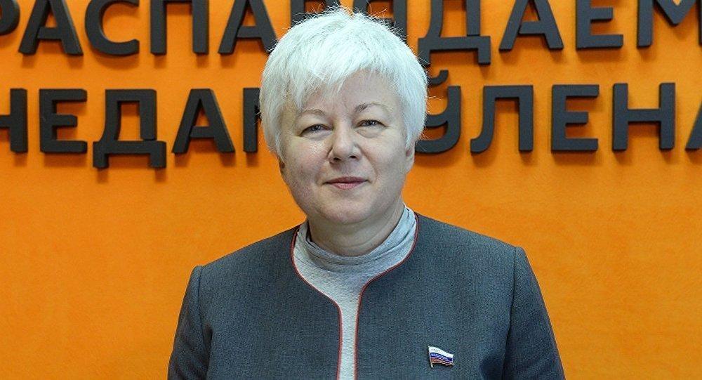 Член Совета Федерации России Ольга Тимофеева