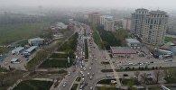 Аалы Токомбаев көчөсүндөгү жол тыгын