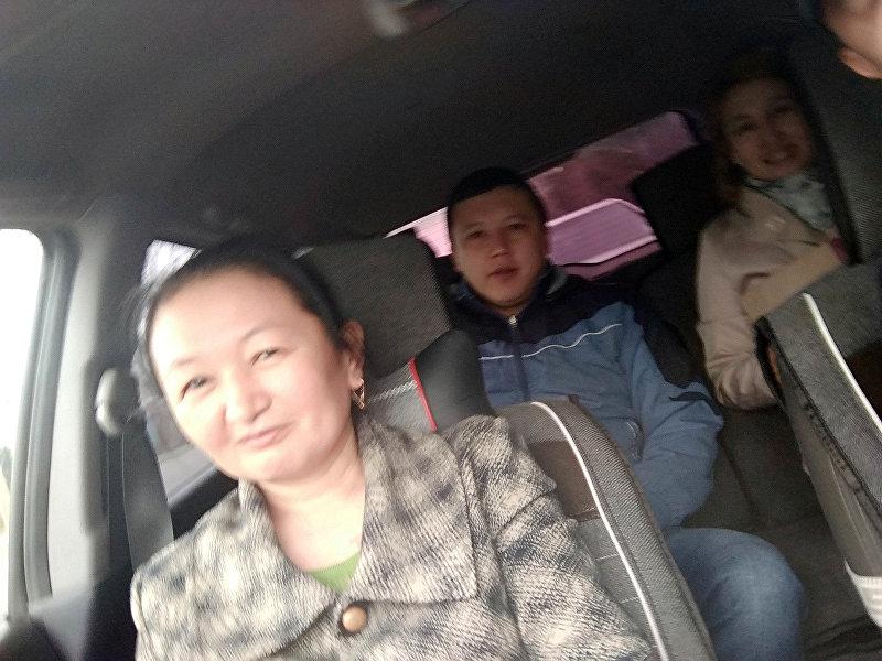 Пассажиры Нуриса Алымбаева, курсировавшего по линии 193-го маршрута