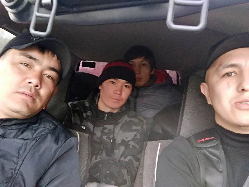 Пассажиры водителя Нуриса Алымбаева, курсировавшего по линии 193-го маршрут