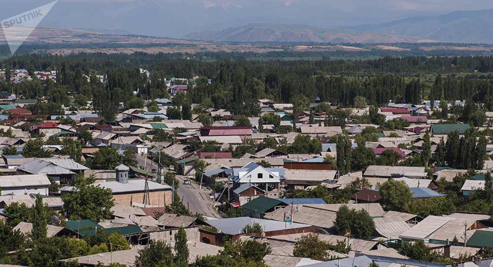 Вид на город Джалал-Абад. Архивное фото