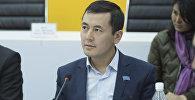 Маданият, маалымат жана туризм министринин орун басары Нуржигит Кадырбеков. Архив