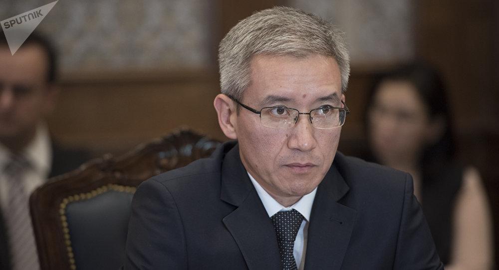 Председатель правления Российско-Кыргызского фонда развития Эркин Асрандиев. Архивное фото