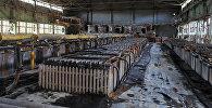 Кадамджайский сурьмяный комбинат в Баткенской области. Архивное фото