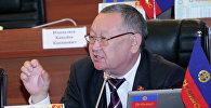 Жогорку Кеңештин экс-депутаты Каныбек Осмоналиев. Архив