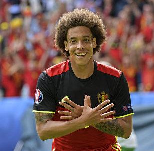 Футболист сборной Бельгии Аксель Витсель. Архивное фото