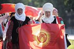 Посетители на международном фестивале в Бишкеке. Архивное фото