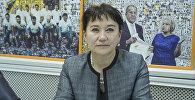 КСДП фракциясынын депутаты Айнуру Алтыбаева. Архив