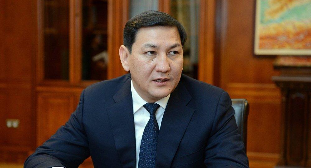 УКМКнын мурдагы жетекчиси Абдил Сегизбаев. Архивдик сүрөт